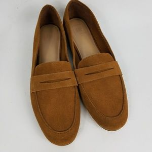 GAP Suede Penny Loafers
